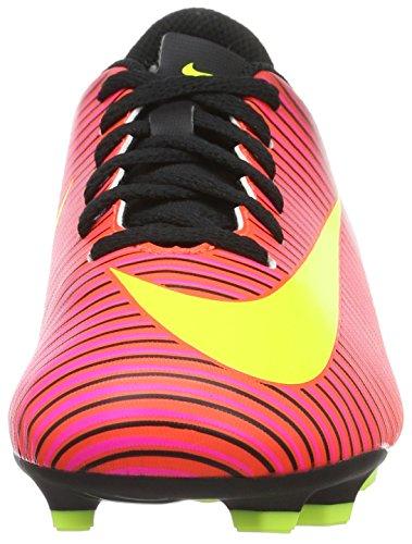 Nike - Jr Mercurial Vortex Iii Fg, Scarpe da calcio Unisex – Bimbi 0-24 Multicolore (Total Crimson/volt-black-pink Blast)
