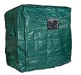 Abdeckhaube XXL für Strandkorb XXL, Farbe grün, LILIMO ®