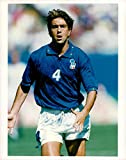 Fotomax Vintage Photo of Alessandro Costacurta Italian Football Manager.