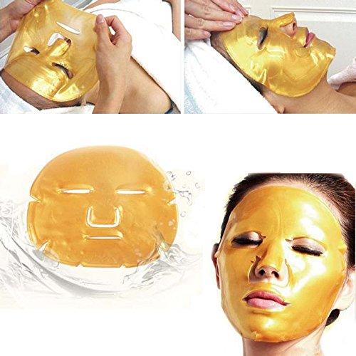Boolavard 5pcs or Collagène Masques de Visage en Cristal anti-âge soins de la peau Masque Facial