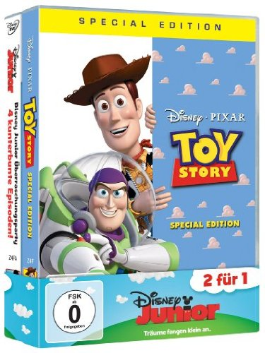 8: Toy Story 1+ Disney Junior Überraschungsparty [Special Edition] [2 DVDs] ()