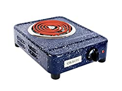 Orbon 2000-Watt G Coil Radient Cooktop With ON-OFF Indicator Light & 2 Mtr. Heavy Duty 16 Amp. Wire Cord.