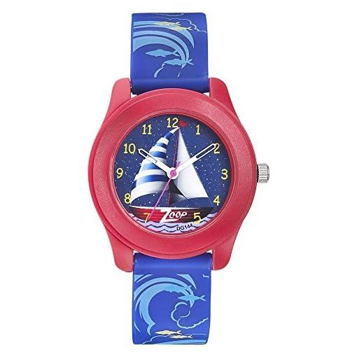 51aqLYUpM L. SS510  - Titan 16003PP03 ZooP Travel Buddy Kids Plastic watch