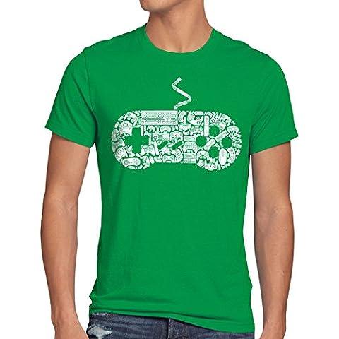 style3 GAMER Camiseta para hombre T-Shirt gamer game videojuego