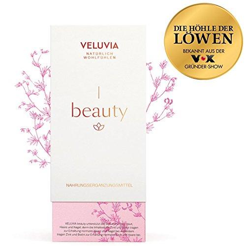 Veluvia-06700-Beauty-Vegan-Nahrungsergnzungsmittel-Haut-Haare-Ngel-Vitamin-A-C-B7-Zink-Kupfer-Selen-Superfoods-Schnheits-Boost-Gesundes-Erscheinungsbild-2-x-30-Kapseln-1-Monat