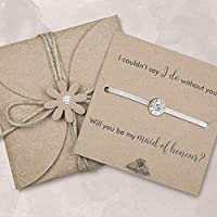 Maid of honour proposal gifts, will you be my maid of honour gifts, gifts for maid of honour, ivory