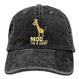 fuyon Men Women Moo, I'm A Goat Jeanet Baseball Hat Adjustable Trucker Cap Fashion5508