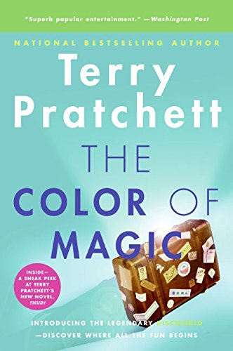 Book cover for The Color of Magic