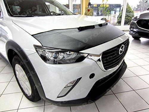 AB2-00194 BRA CX-3 15-- Haubenbra Steinschlagschutz Tuning Bonnet Bra (Mazda 3 Motorhaube)