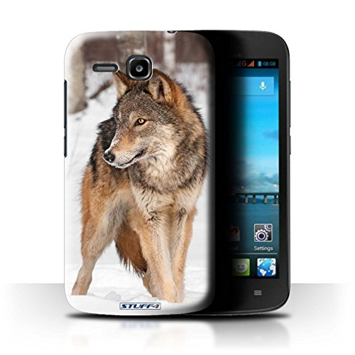 Stuff4 Hülle / Hülle für Huawei Ascend Y600 / Wolf Muster / Wilde Tiere Kollektion
