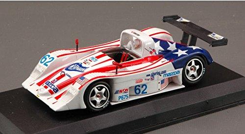 MAZDA LOLA B 2 IMSA 2002 1:43 Top Model Auto Competizione modello modellino die cast