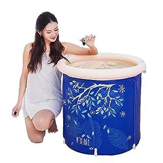MBJZ Green pvc bath and shower trays children thick inflatable bathtub,65*70cm