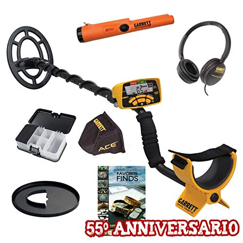 Garrett ace 300i pro pointer at libro box promo 55° anniversario metal detector