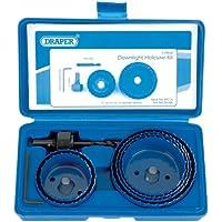 Draper 89716 9-Piece Holesaw Kit for Downlights