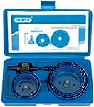 Draper 89716 9-Piece Holesaw Kit for...