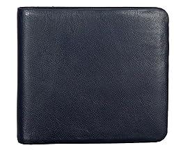 Adamis Leather Mens Wallet VW18 Blue