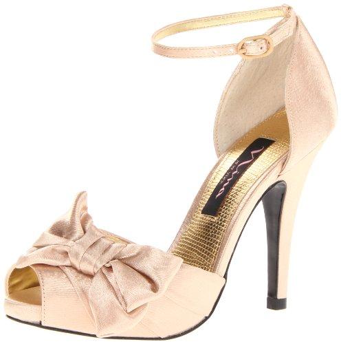 Nina Bridal  Electra Fushsia Special Occasion Neob ELECTRA01, Sandales femme Or