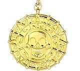 Inception Pro Infinite Piraten - Halskette der karibischen Goldfarbe - Geschenk - Idee