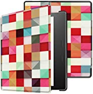 Tenonev Slim Stand Case Cover With Auto Sleep/Wake for Kindle Oasis 7.0 Inch 2019/2017 (A)
