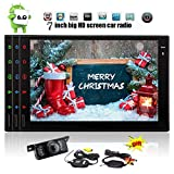 Wireless Rear-Kamera umfasst Quad-Core-Android-Stereo Doppel-DIN-7-Zoll-6.0-Eibisch-System GPS-Navigation Auto-Video-Player in Dash Autoradio Freisprecheinrichtung Bluetooth Tablet Wifi / USB / SD /