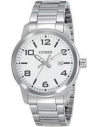 Citizen Herren-Armbanduhr Analog Quarz Edelstahl BI1020-57A
