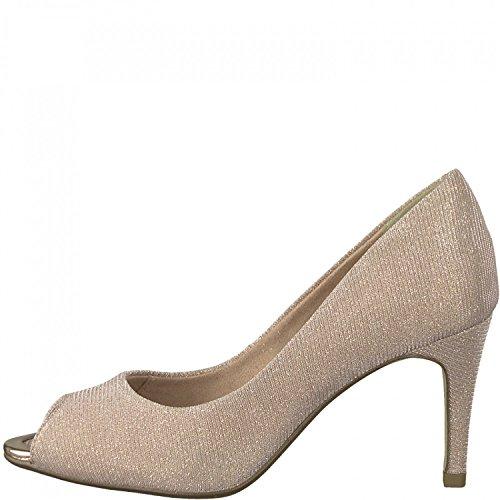 Tamaris Peeptoe Pumps 1-29302-20 Stiletto High Heel, Schuhgröße:38;Farbe:Rosa
