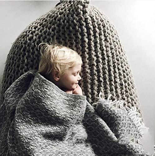 Huanzi sofa divano pigro intrecciato a mano monocromatico tessuti a mano tatami beanbag beanbag divano figli adulti, 4, 70 * 120cm
