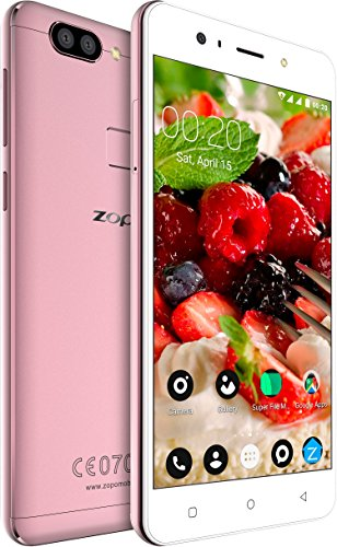 Zopo Speed X - Soft Light Selfie - Android Smartphone Mobile (Orchid Gold, 3GB RAM + 32GB ROM, 13MP + 2MP Dual Rear Camera and 13MP Front Camera)
