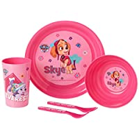 PAW PATROL 4620BL-5886 Breakfast/Lunch and Dinner Set, Pink