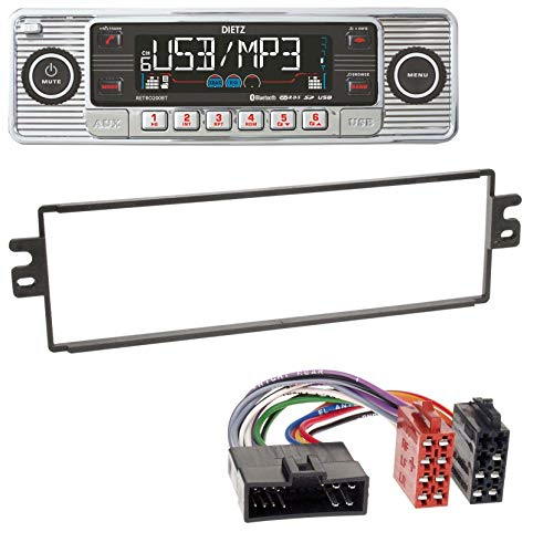 caraudio24 Dietz BOA Retro_200_BT Bluetooth USB SD MP3 CD Autoradio für Kia Rio Clarus Carens (bis 2002) Rio Mp3