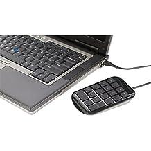Targus AKP10EU - Teclado númerico USB, color negro/gris