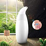 WHYTT 240ML Nasal Aspirator - Nasal Aspirator for Sinus Congestion Relief Snot Sucker Clear Nasal Mucus Remover Baby Suction Nose Cleaner allergic rhinitis in adults and children ventilated