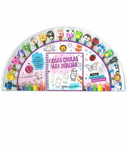 Cosas chulas para dibujar (Lápices y gomas) por Susaeta Ediciones S  A