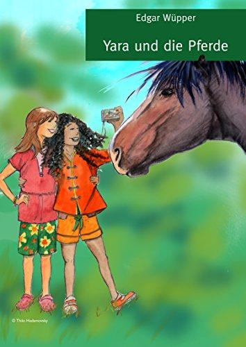 Yara und die Pferde Pferdepflege Hufpflege