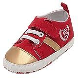 Beikoard Baby Einfarbig Kleinkind Schuhe Schuhe Straps Crib Schuhe Weiche Sohle Anti-Rutsch-Schuhe Erste Wanderer Schuhe