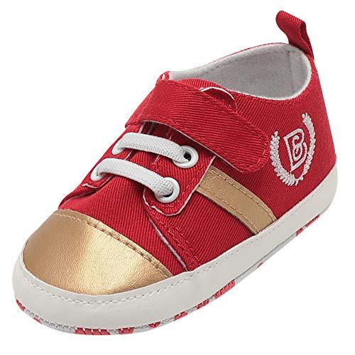 e4c018603d6b7 Chaussures Bébé Binggong Infantile Bébé Garçons Enfants Sangles Crib  Chaussures Semelle Souple Antidérapant Premières Chaussures De