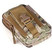Newgrees Impermeable Deportes Militar Utilidad Chaleco Tã¡Ctico de la Cintura Bolsa Bolsa para el Aire Libre