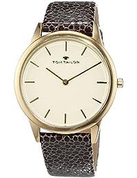 TOM Tailor de relojes mujer-reloj analógico de cuarzo cuero 5414702