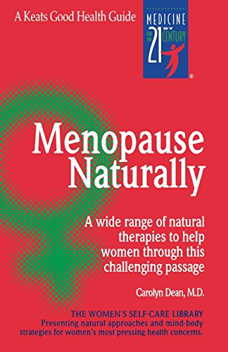 Menopause Naturally (Keats Good Health Guides)