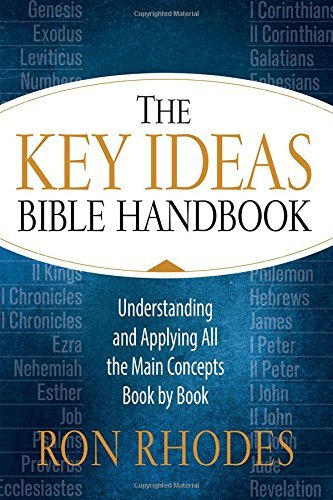 The Key Ideas Bible Handbook: Understanding and Applying All the Main Concepts Book by Book by Ron Rhodes (2016-09-01)