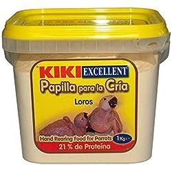 Gzm 1Kg de Papilla para Loros, Yacos, Cotorras y Guacamayos