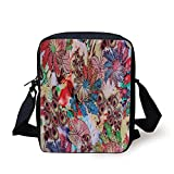 Product Dimensions: 6.7 x 2.3 x 9 inches 300D polyester material; smooth zippers; stain resistant; perfect size for kids; not smell weird. You can use them for Ipad in school, camping, outdoor for small but valuables and more! We are proficient in to...