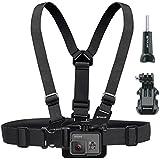 correa para el pecho para GoPro, Puluz® - arnés de cuerpo cómodo sistema de montaje ajustable para todas las cámaras ediciones héroe
