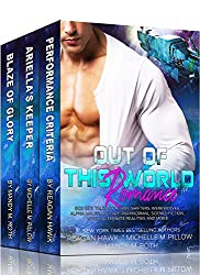 Out of this World Romance Box Set: Tales of Aliens, Shifters, Werewolves, Alpha Males, Military, Paranormal, Science Fiction, Space, Alternate Realities and More! (English Edition)