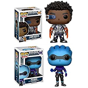 Funko Pop Pack Liam Kosta + Peebee (Mass Effect Andromeda) Funko Pop Mass Effect