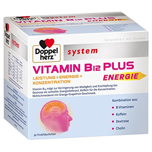 Doppelherz Vitamin B 12 Plus, 1er Pack (1 x 30 Stück)