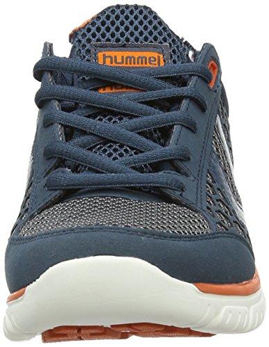 Hummel Crosslite, Chaussons Sneaker Adulte Mixte Bleu (Majolica Blue)
