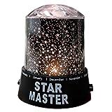 TOAOB LED Sternenhimmel Star Master Nachtlicht Lampe Sternen-Projektor Himmel Lichteffekte Projektor Romantisch für Kinderschlafzimmer und Weihnachtsgeschenk
