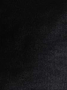Grille de haut-parleur noir/Tissu/Tissu 1000mm x 1000mm. Haut-parleur Armoire Grill. 1m x 1m