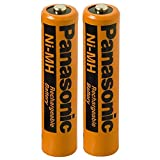 Best GENERIC Rechargeable Batteries - Panasonic AAA Battery NiMah 2pc rechargeable for cordless Review